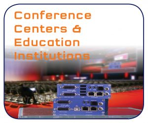 KVM Extender over IP for Conference Center